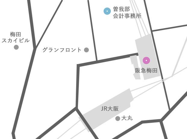 阪急梅田駅からお越しのお客様